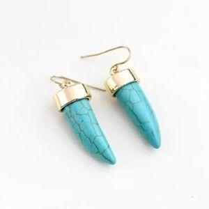 Turquoise 18K Earrings